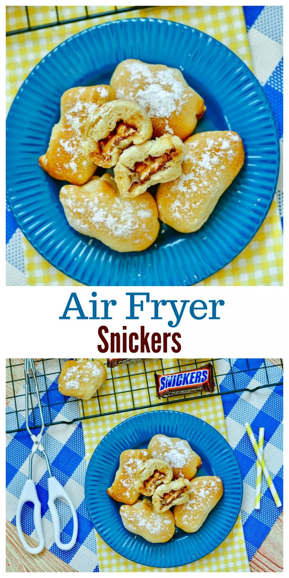 This sweet treat is the ultimate air fryer dessert recipe. Air Fryer Snickers are easy to make and will surely satisfy that sweet craving you've been having.