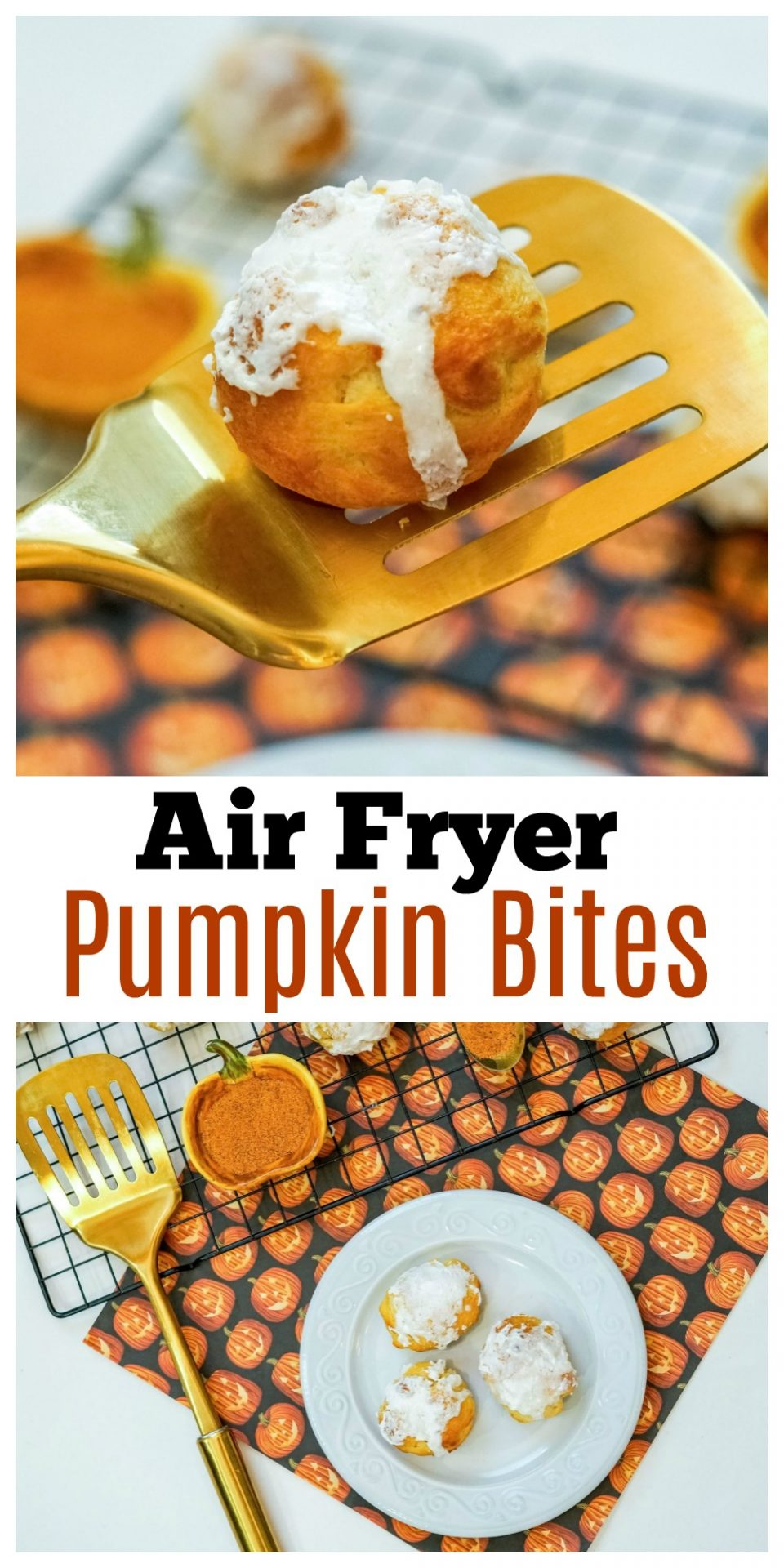 If you are a fan of pumpkin treats, this recipe for Air Fryer Pumpkin Bites is going to blow your socks off!
