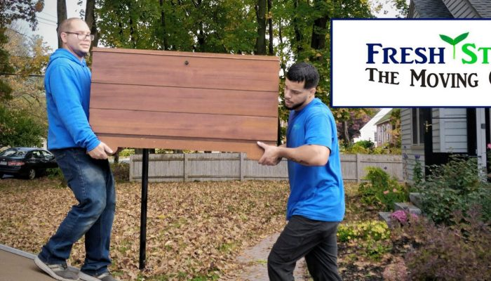 Fresh Start - The Moving Crew is a moving and packing service servicing New England and they can help you with all of your moving needs.